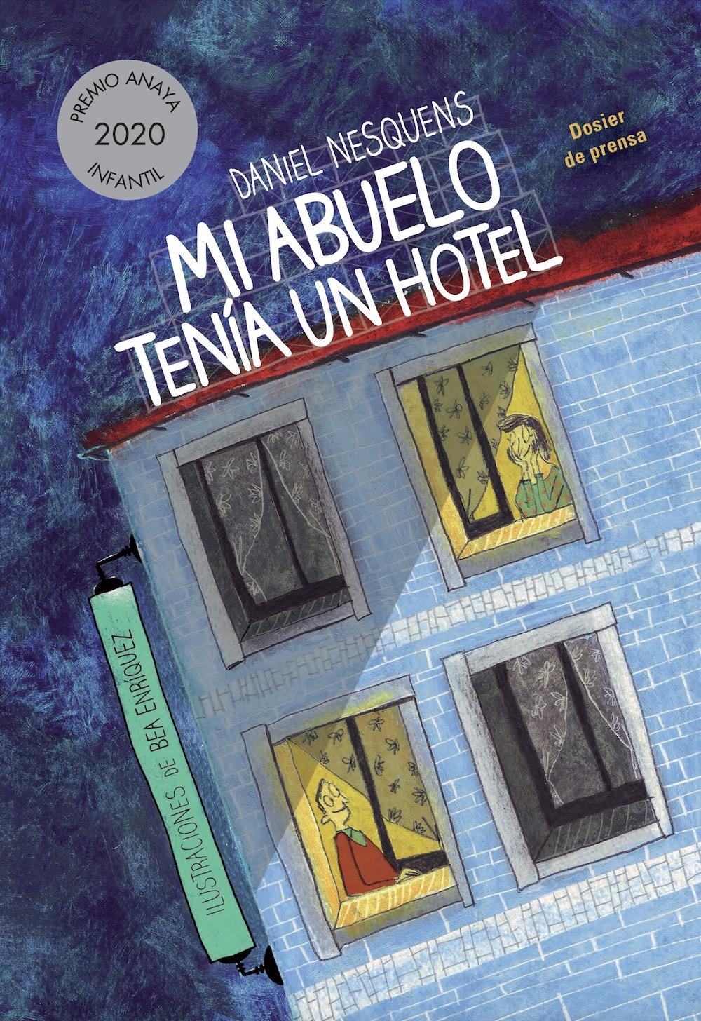 Mi abuelo tenía un hotel (Premio Anaya 2020)